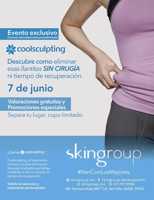 Evento exclusivo - Coolsculpting - Junio 2017