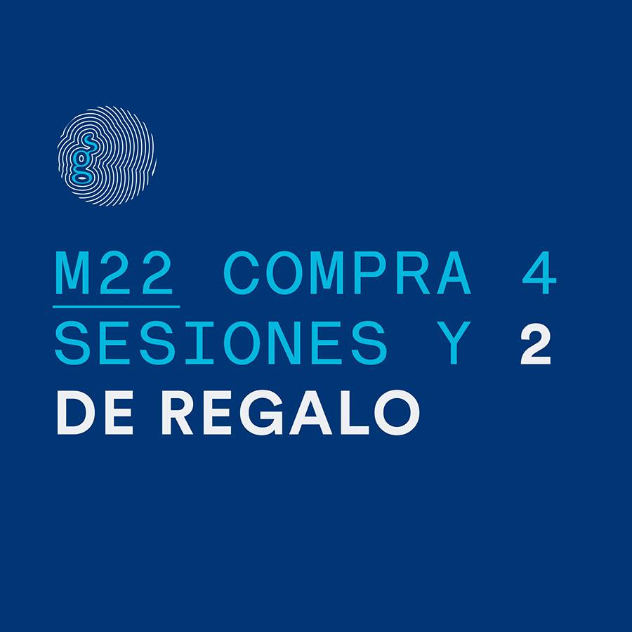 M22 Compra 4 Sesiones y 2 de Regalo
