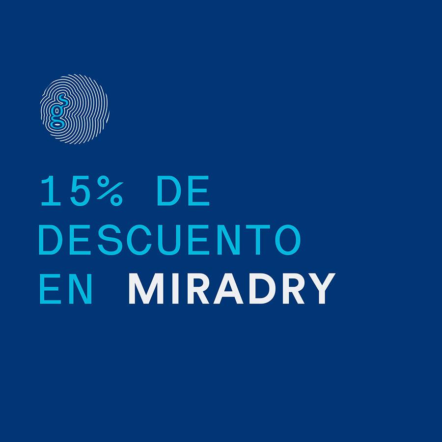 15% de Descuento en Miradry