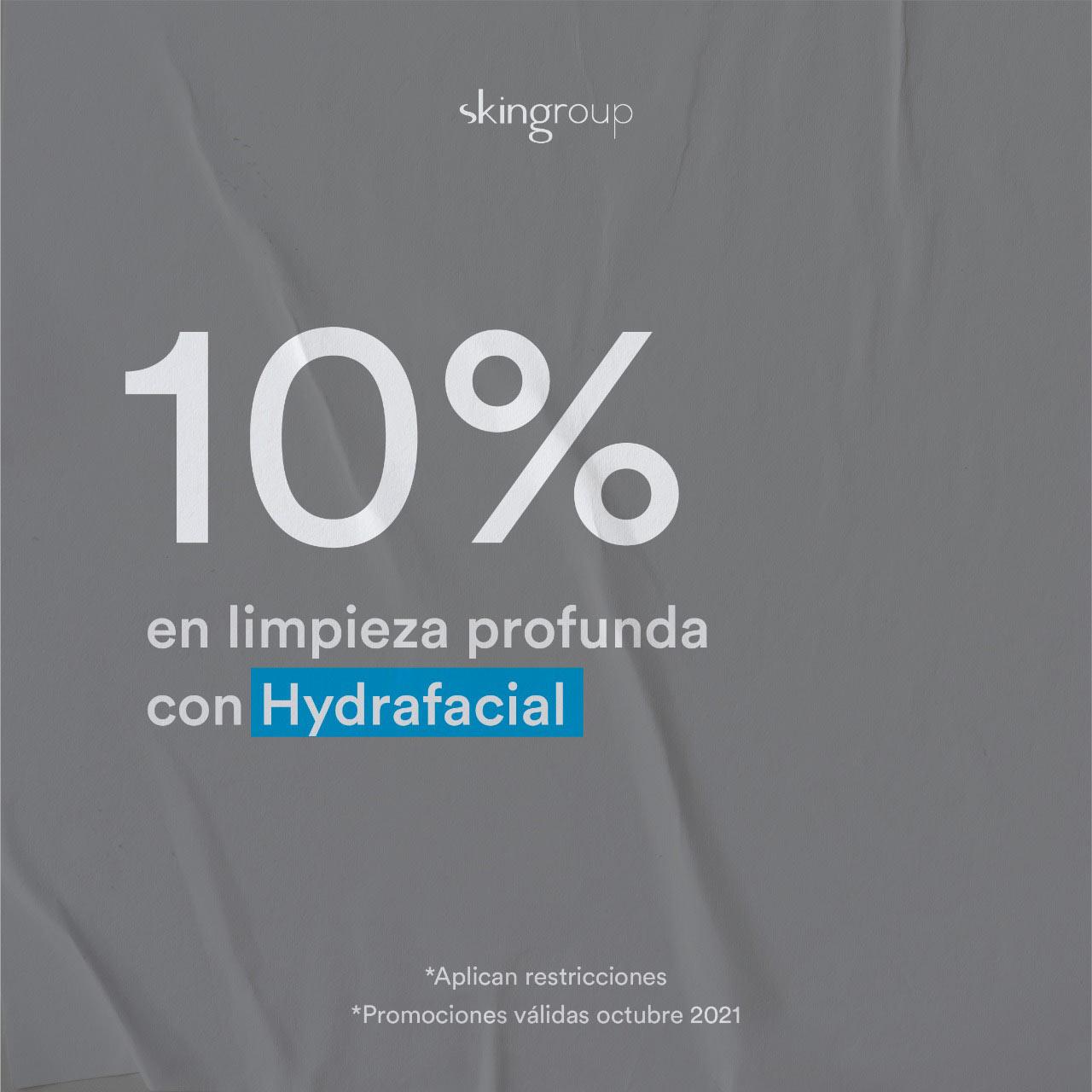10 % Hydrafacial